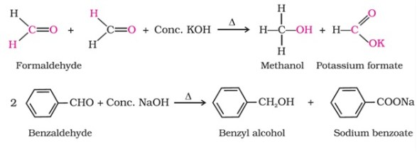 Important Name Reactions in Organic Chemistry: Cannizzaro Reaction