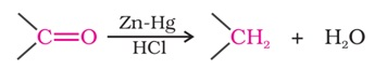 Important Name Reactions in Organic Chemistry: Clemmensen Reduction