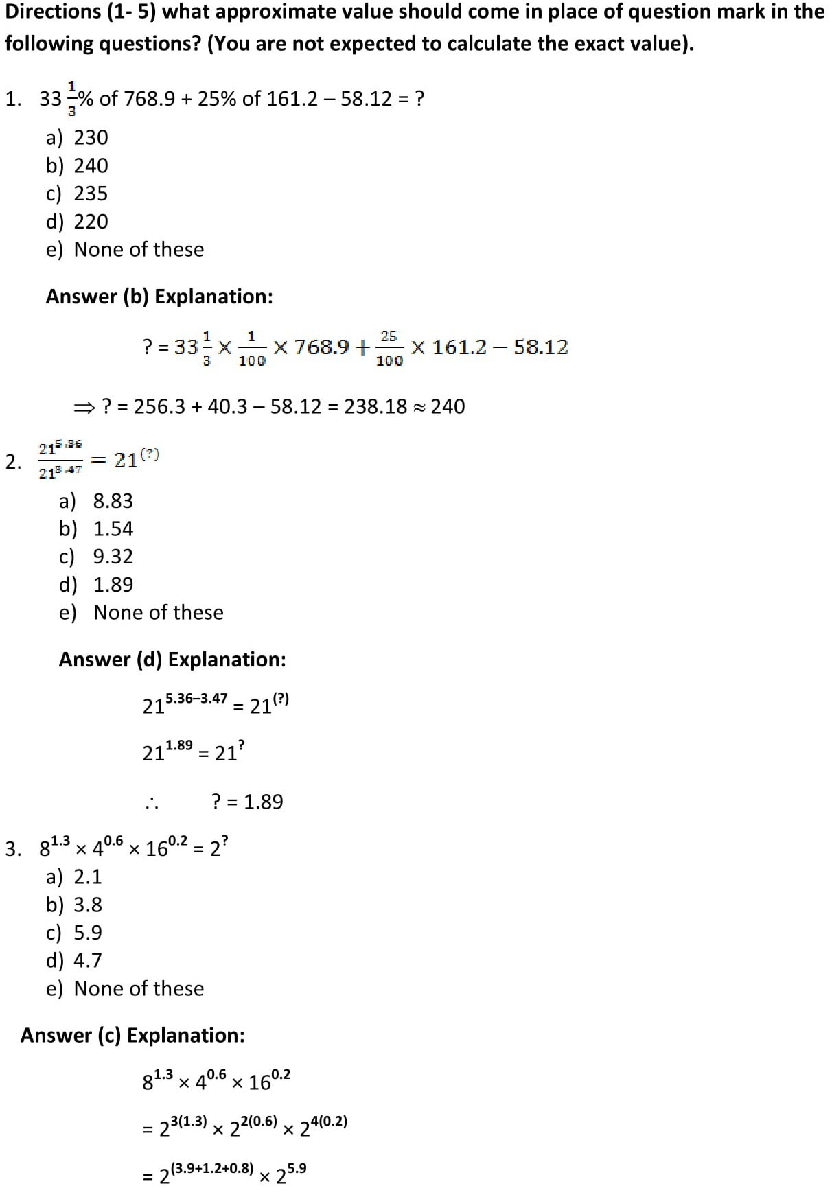 Ibps Clerk Paper With Solutions