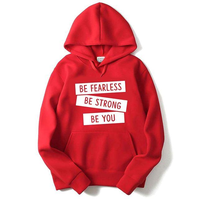 Red Sweatshirt and Hoodie
