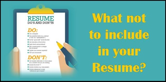 what to include in a college resume