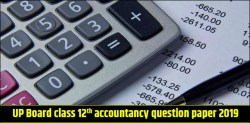 UP Board class 12th Accountancy Question Paper 2019