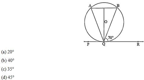 Class 10 Maths chapter Circles: NCERT Exemplar exercise 9.1