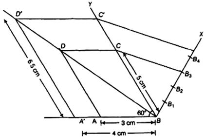 Class 10 Maths NCERT Exemplar Solution, Constructions:Ex.10.4