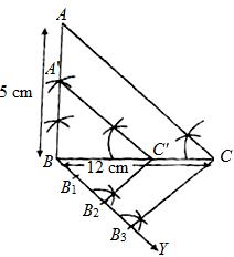 Class 10 Maths, Constructions: NCERT Exemplar Solution Ex.10.3