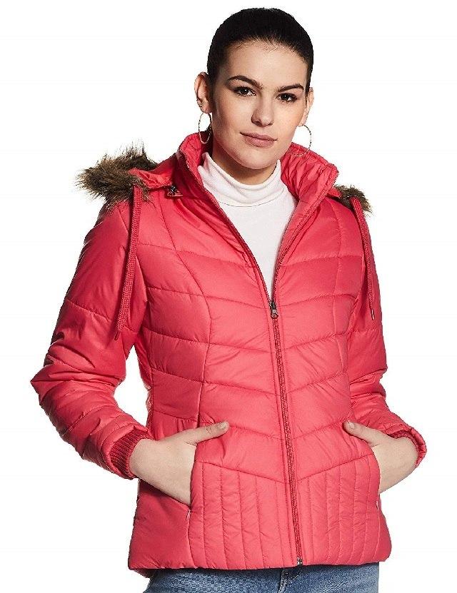 Fuchsia fur jacket
