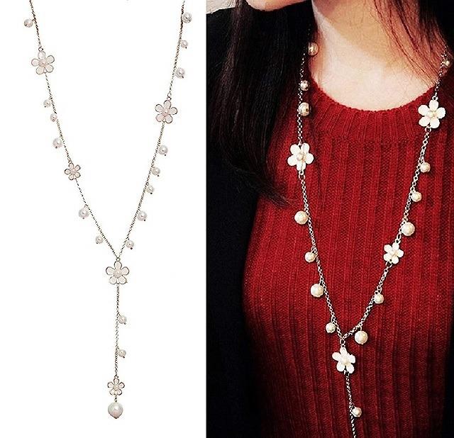 Floral design jewellery