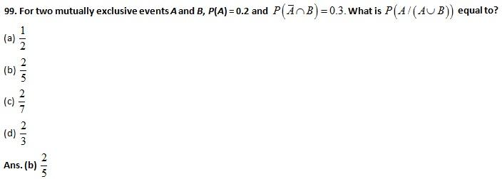 UPSC NDA (I) 2016 Maths Question Paper & Answer Key