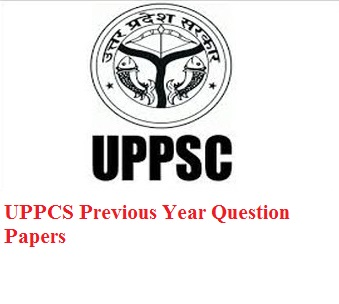 UPPCS Previous Year Question Paper