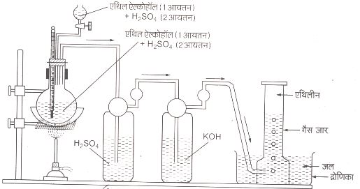UP Board class 10 notes on organic compounds
