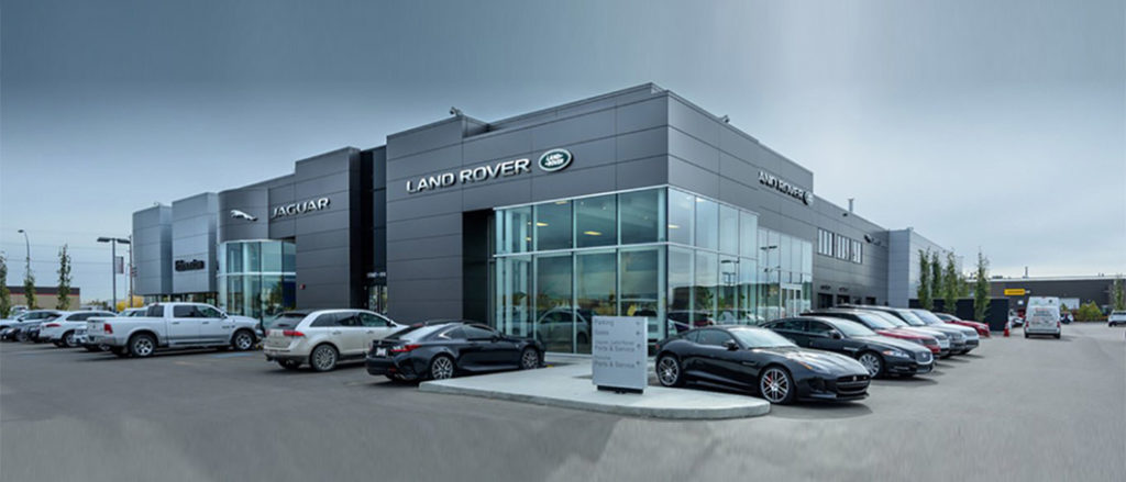 JLR Edmonton Dealership