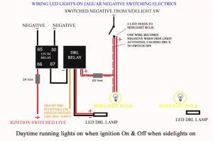 Wiring led lights on negative switched cars  Jaguar Forums  Jaguar Enthusiasts Forum