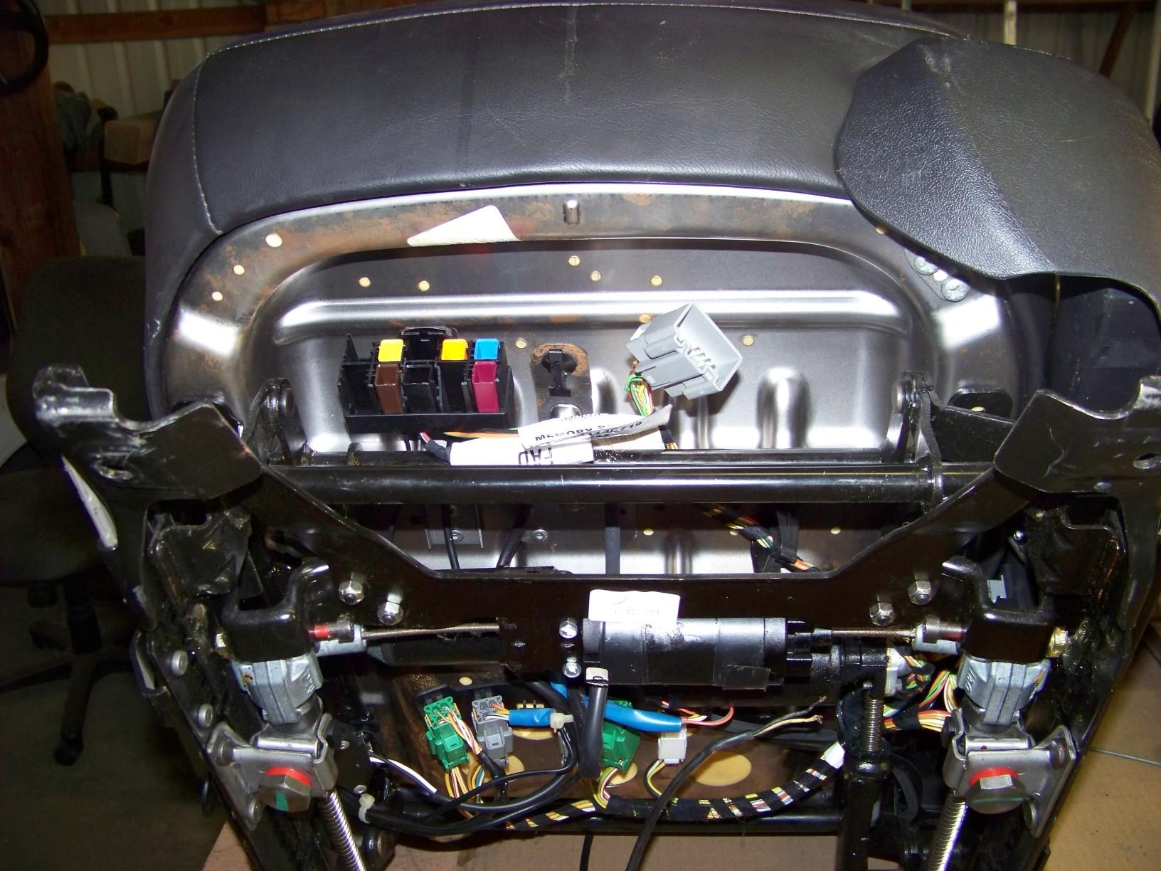 hight resolution of power seat wiring to make it work outside the car jaguar forums jaguar seat diagram