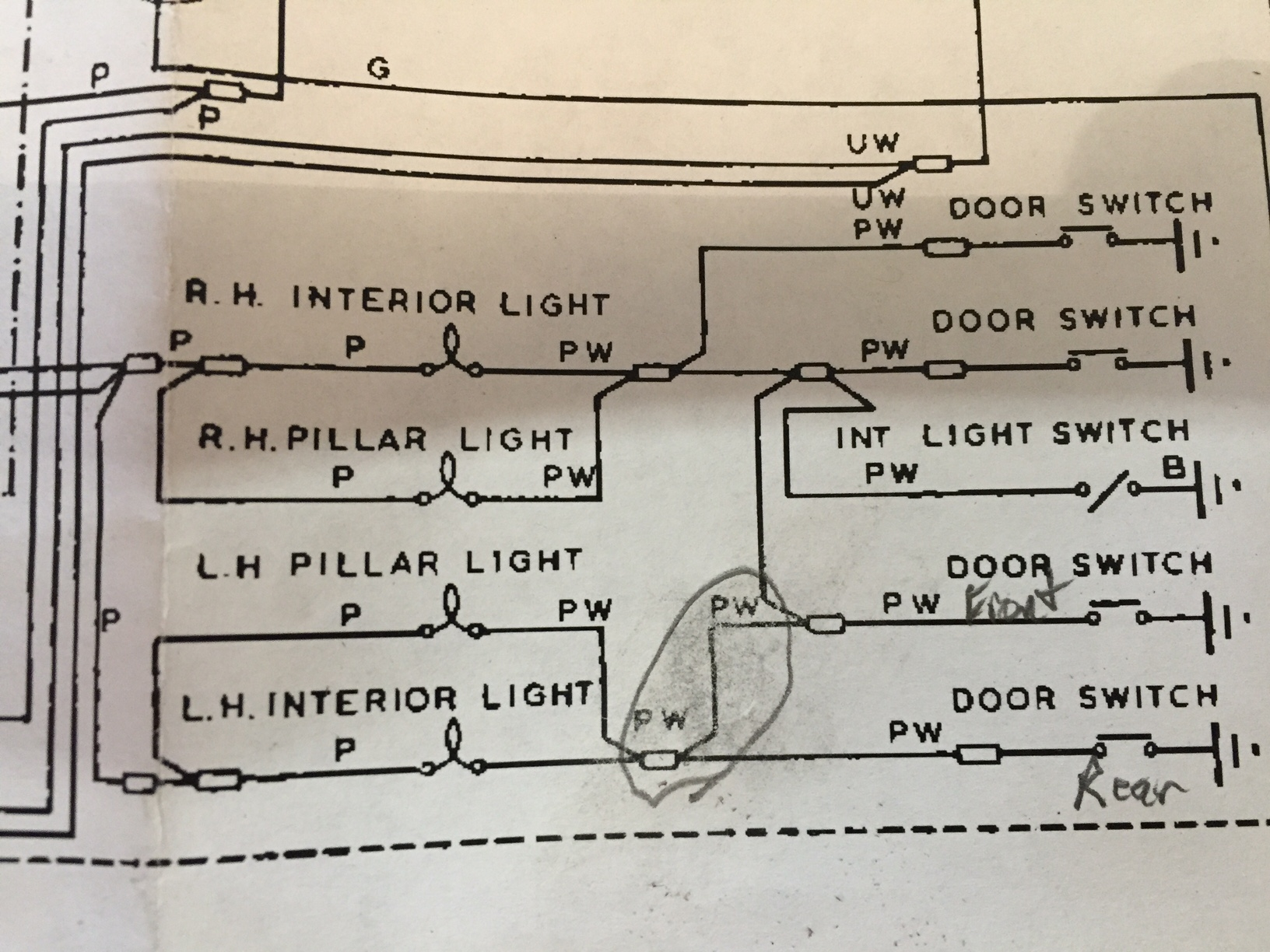 1967 Firebird Headlight Wiring Diagram