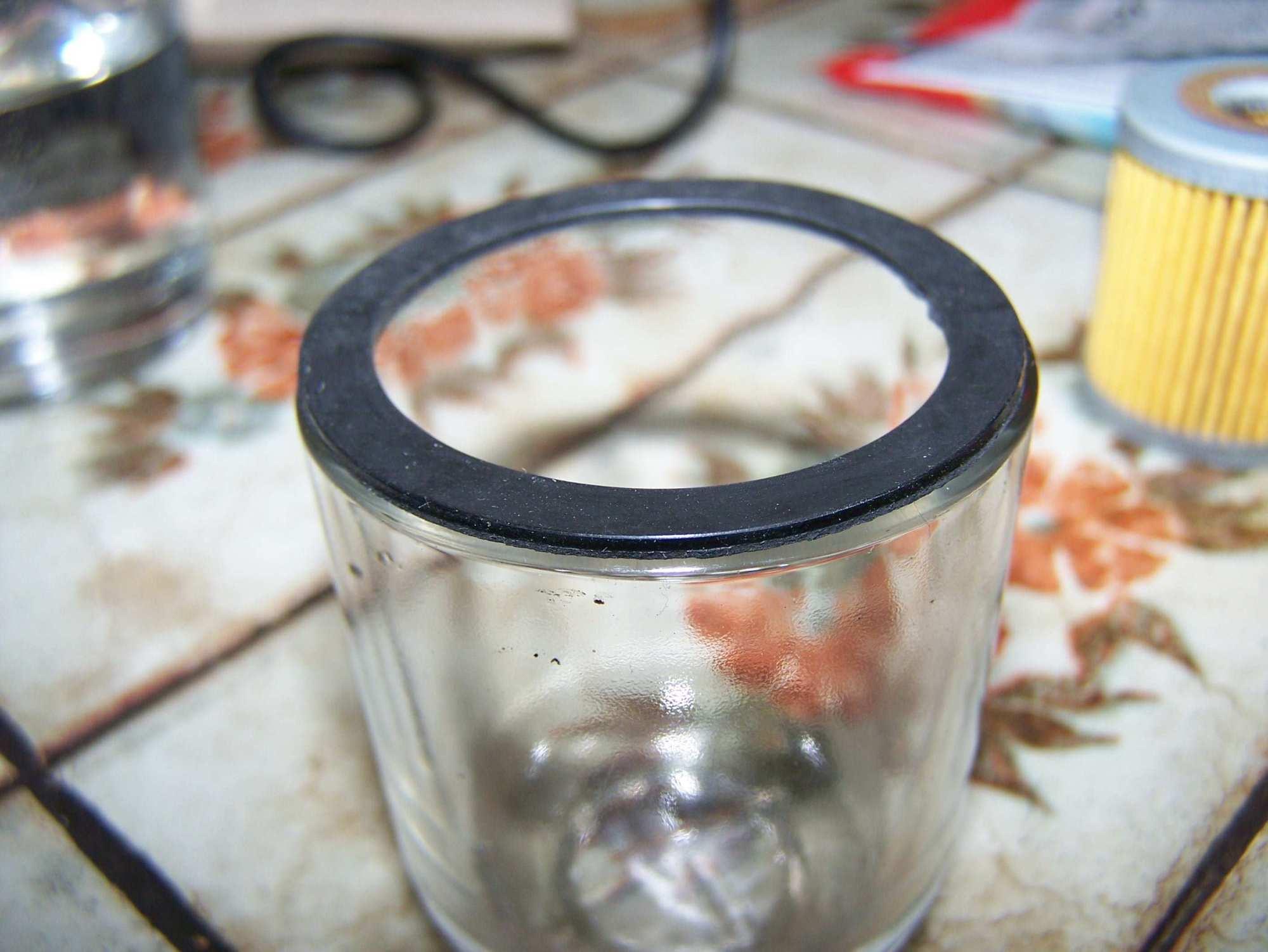 hight resolution of annoying fuel filter gasket problem