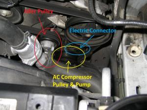 2005 30 Litre AC Compressor Replaced WPics FAQ  Jaguar
