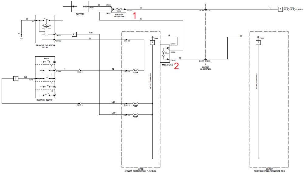 medium resolution of battery drain diagnosis where are mega fuses diagram jaguarbattery drain diagnosis where are mega fuses