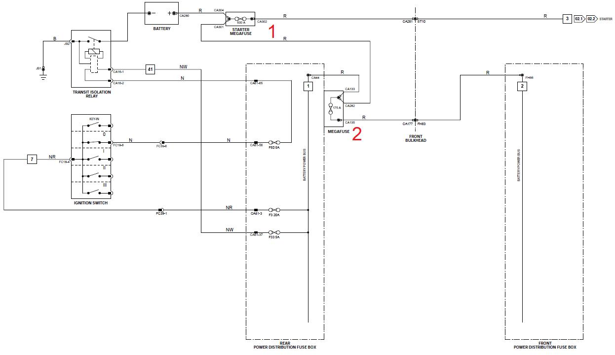 hight resolution of battery drain diagnosis where are mega fuses diagram s power