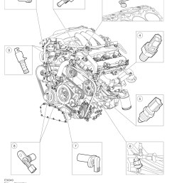 crankshaft sensor location po3550 s type electronic engine controls [ 1125 x 1641 Pixel ]