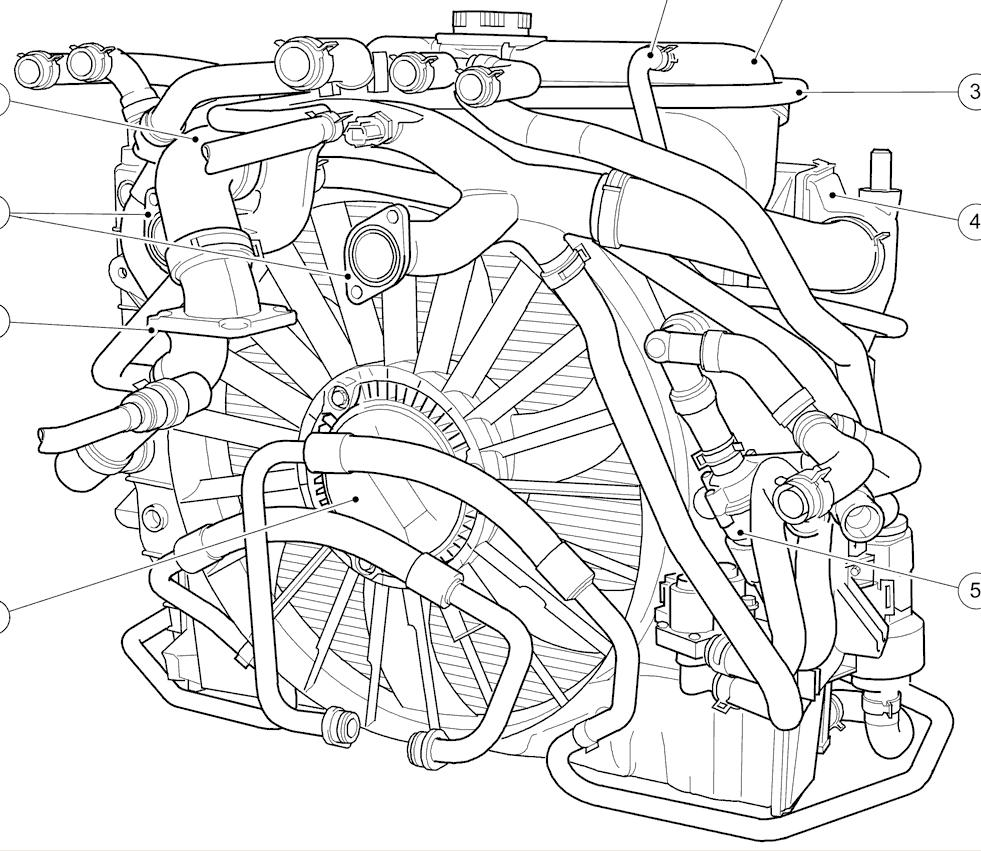 hight resolution of str coolant hoses 4 2l sc hoses jpg