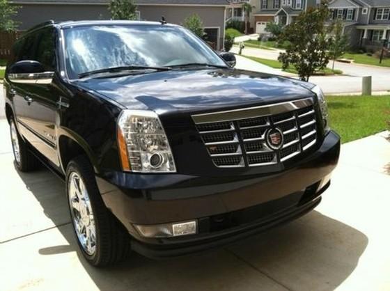 FULLY LOADED 2008 Cadillac Escalade Black On Black 76K