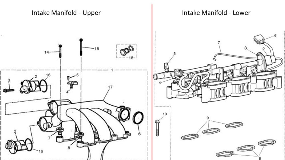 medium resolution of intake manifold bolts 2004 x type 3 0l jaguar xtype intake manifold upper lower jpg