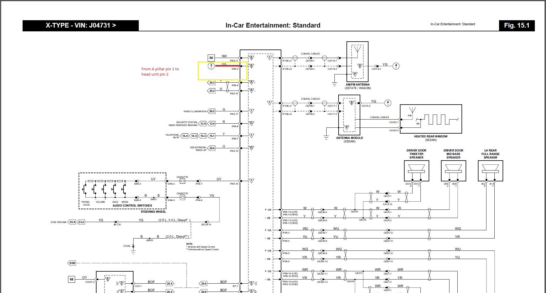 2003 jaguar s type wiring diagram mouse skeletal headlight library