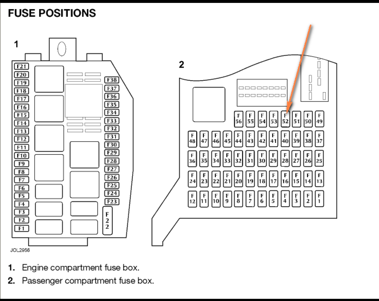 05 Jaguar Type Fuse Box Diagram