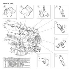 Jaguar X Type 2 0 Diesel Engine Diagram Triumph Tr6 Pi Wiring 2004 3 Camshaft Postion Sensor Location