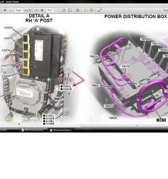foot well fuse box wiring diagrams scematic blown fuse in breaker box foot well fuse box [ 1383 x 1037 Pixel ]