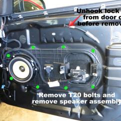 Ba Falcon Premium Sound Wiring Diagram Wiper Motor Chevrolet How To Remove Xf Xfr Door Card Panel Fix Rattles