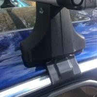 Jaguar roof rack/Thule Canyon cargo basket install ...