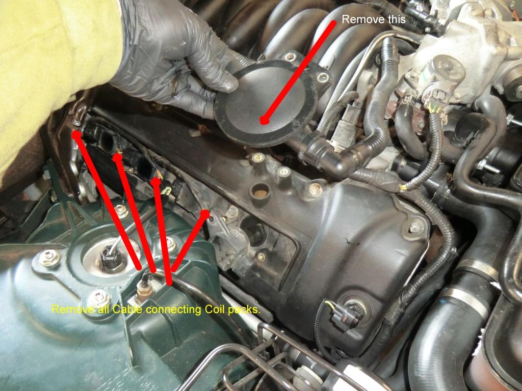 2006 Hemi Engine Wiring Diagram Changing The Spark Plugs How To Jaguar Forums Jaguar