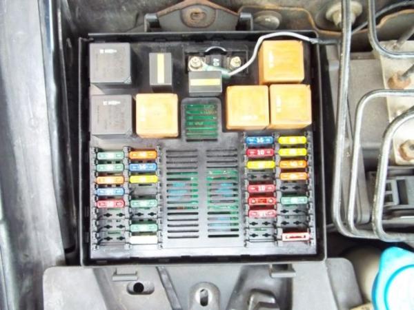 20032008 Jaguar Stype Front Power Distribution Fuse Box