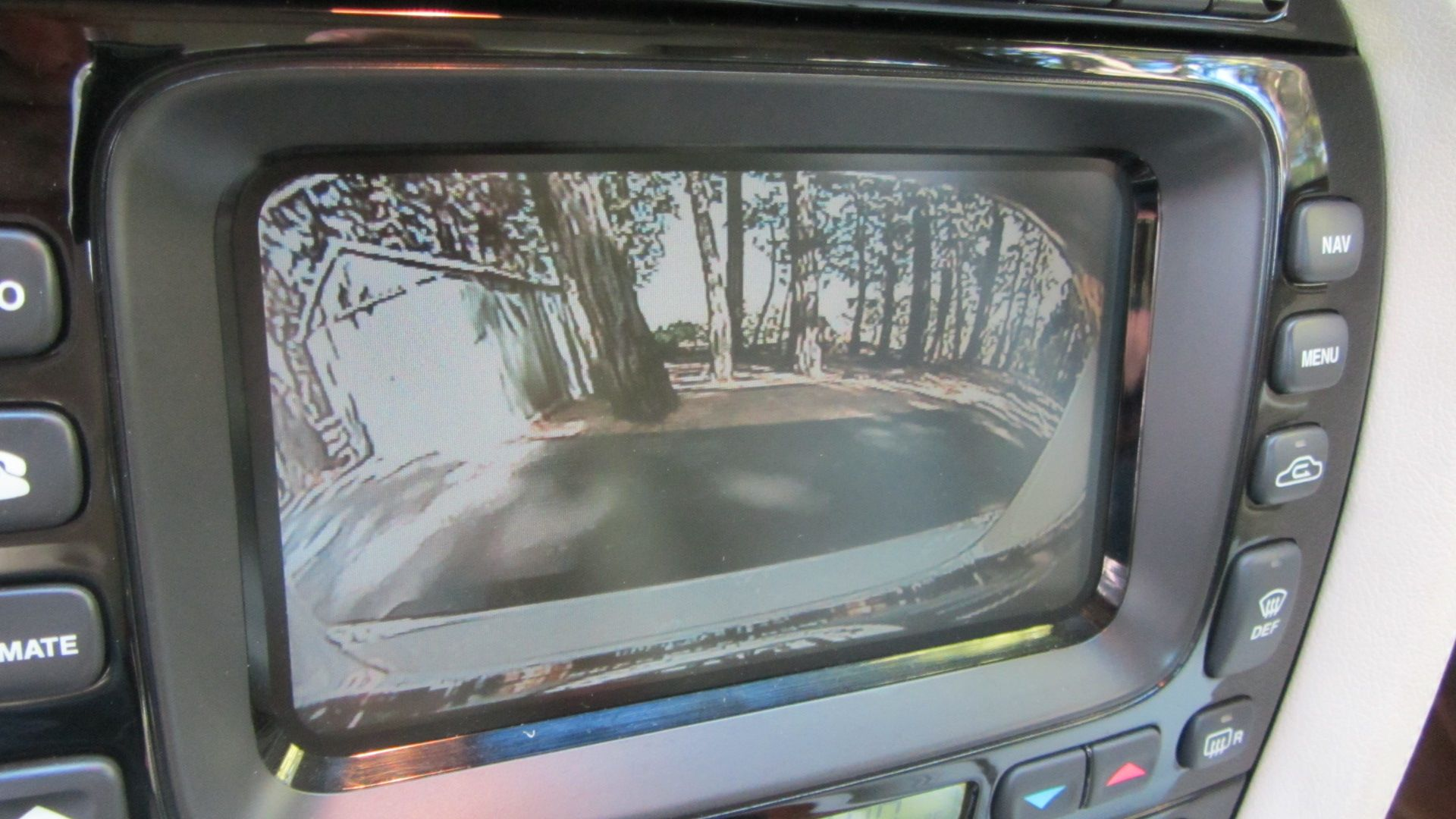 hight resolution of  backup camera install on 2007 vanden plas nav wo lines jpg
