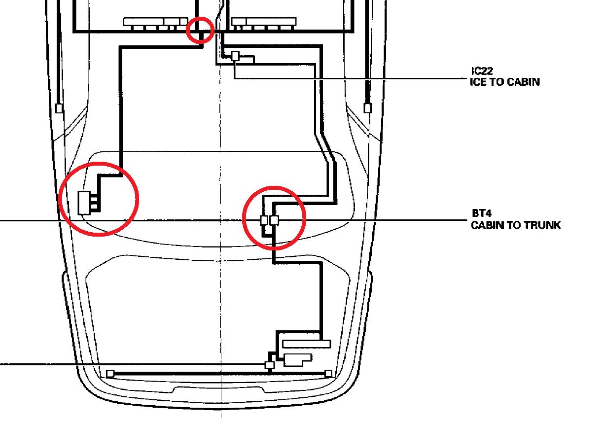 Battery Wiring Diagram In Trunk Reverse Switch Wiring
