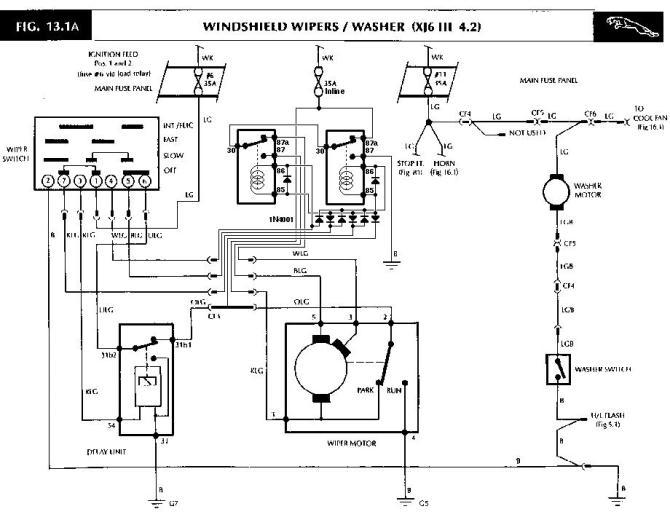 1973 jaguar xj6 wiring diagram  wiring diagrams database