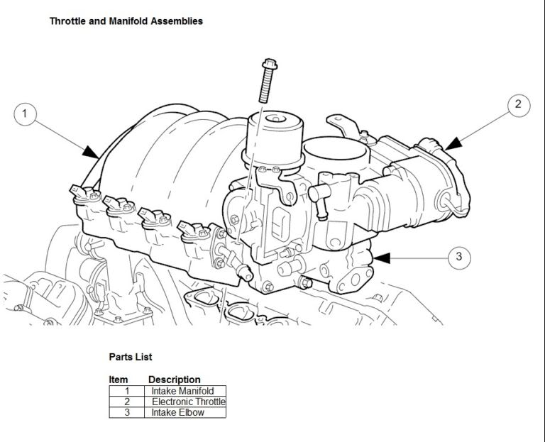 Jaguar On Jaguar Xk8 Electronic Throttle Components Parts Diagram