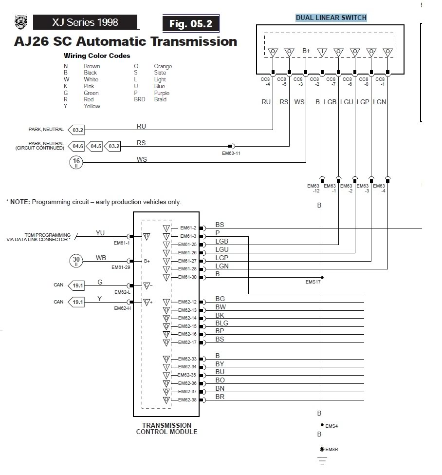 hight resolution of 2006 jaguar xkr fuse box diagram