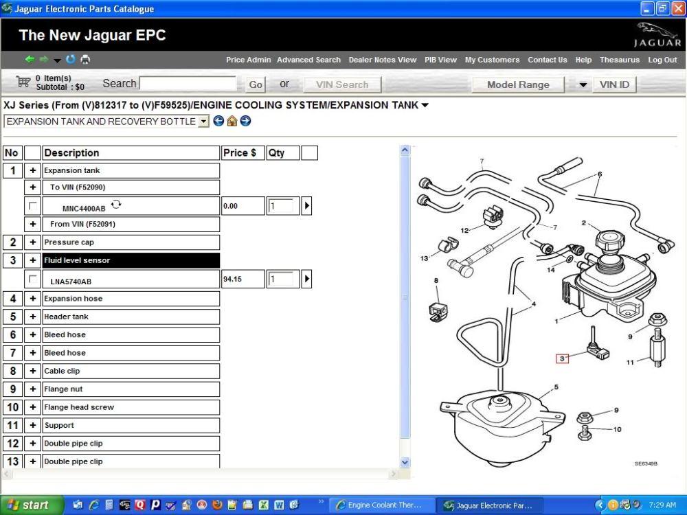 medium resolution of engine coolant thermometer sensor jaguar forums jaguar type coolant level sensor on 2002 jaguar s type engine diagram