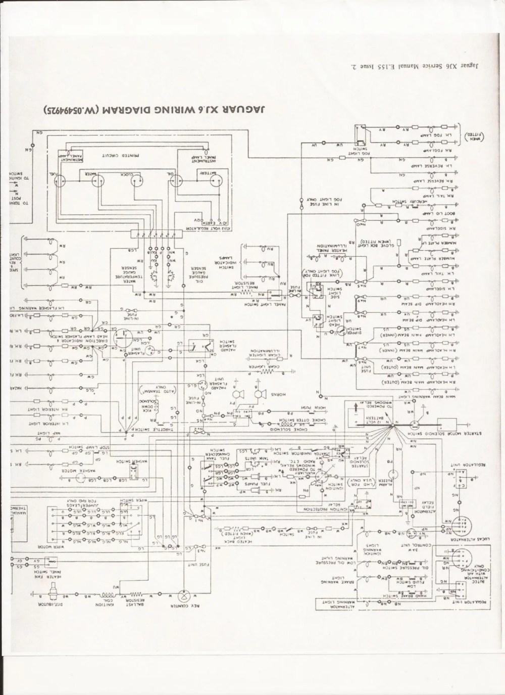 medium resolution of jaguar xj6 tach wiring wiring diagrams sun tachometer wiring jaguar tachometer wiring