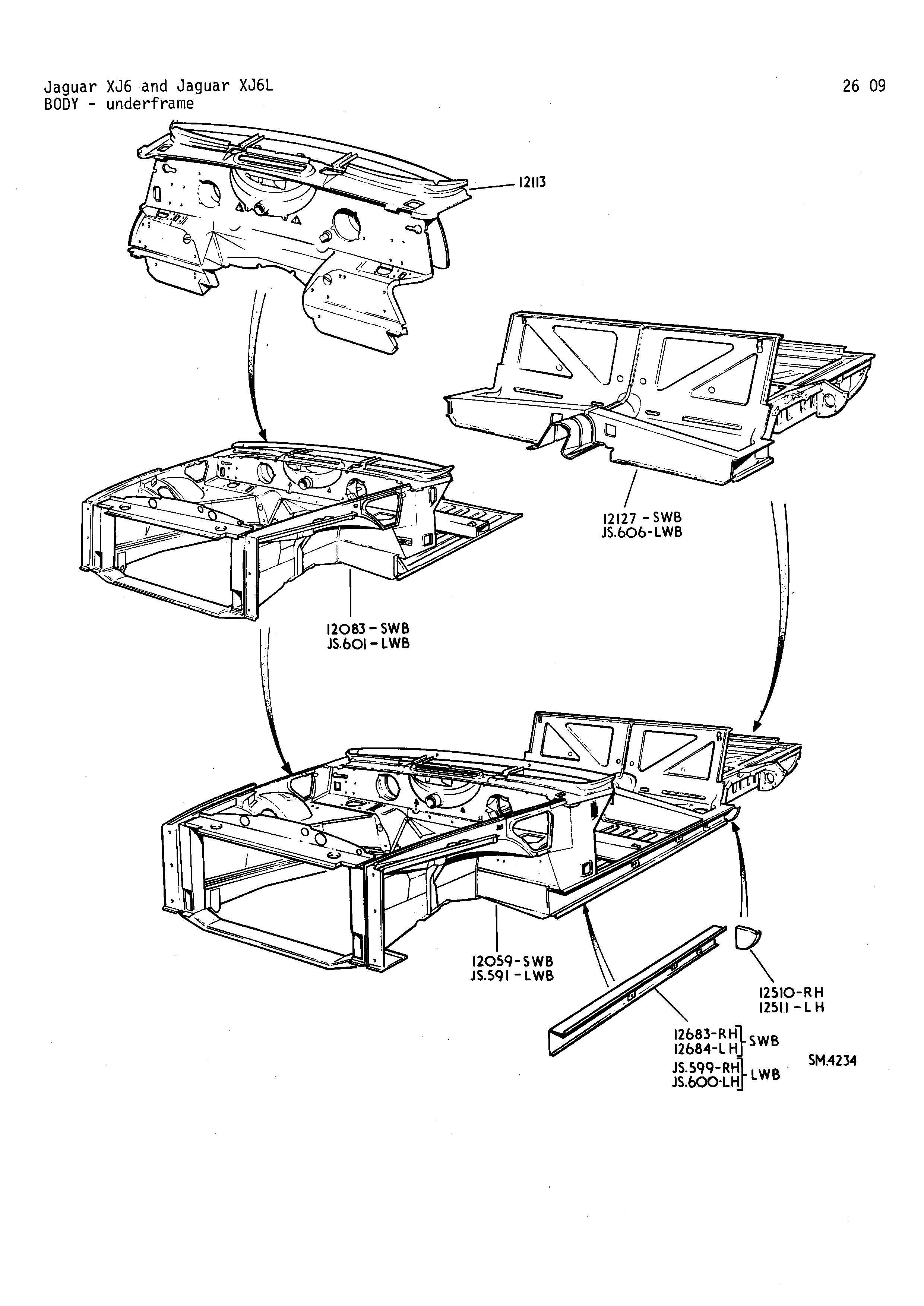 Xj6 Body Construction