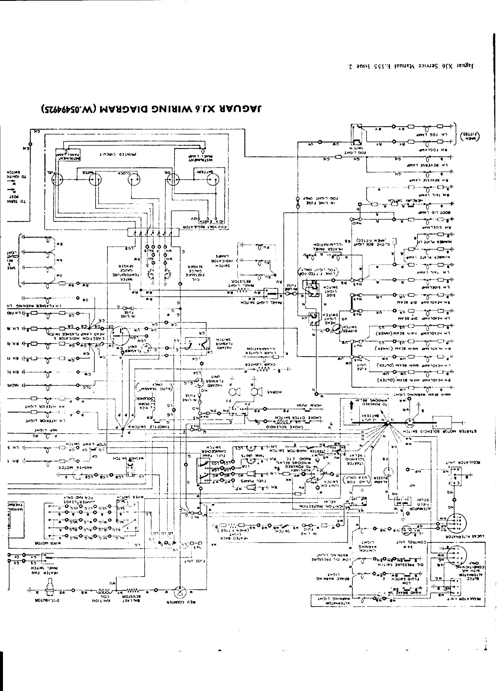 jaguar series 2 wiring diagram