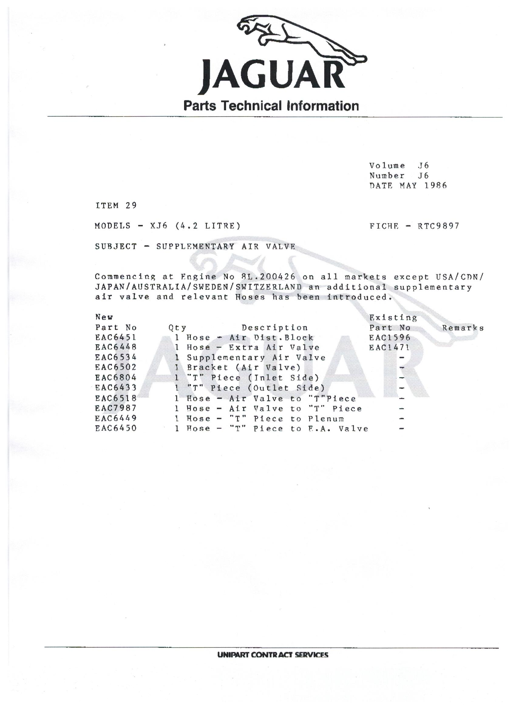 hight resolution of wiring schematic 1985 86 series 3 extra air valve jaguar forums 1985 jaguar xj6 wiring diagram