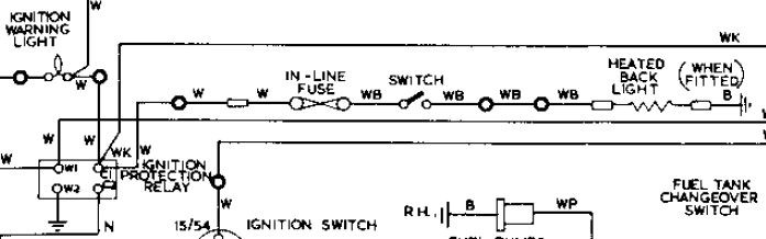 Key Switch Wiring Diagram Ignition Protection Relay Location Jaguar Forums