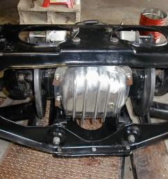 just did a rear brake job pretty billet dana 44 cover  [ 1280 x 960 Pixel ]