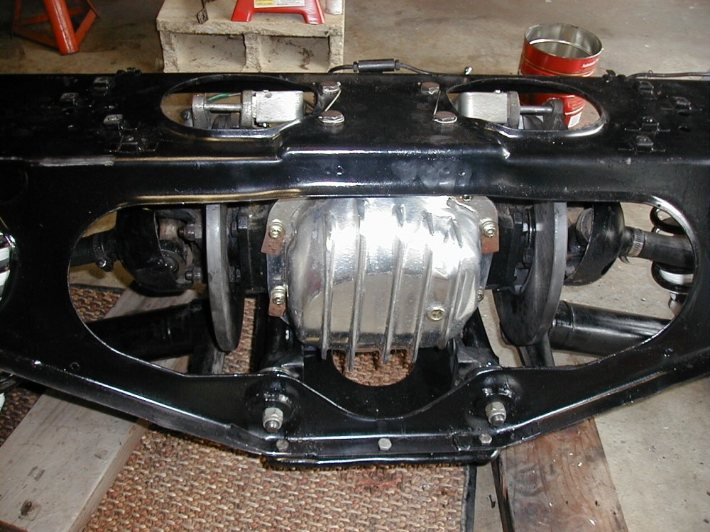 medium resolution of just did a rear brake job pretty billet dana 44 cover