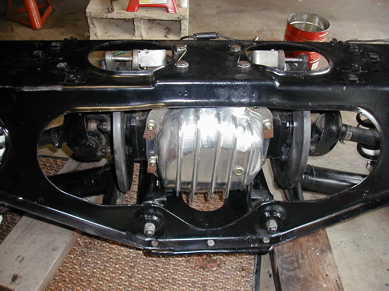 hight resolution of just did a rear brake job pretty billet dana 44 cover
