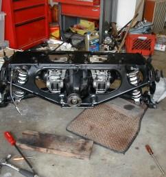 just did a rear brake job view whole irs jpg [ 1280 x 960 Pixel ]