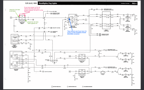 small resolution of diagram also jaguar headlight relay on 1986 jaguar xj6 relay diagram jaguar x type headlight wiring